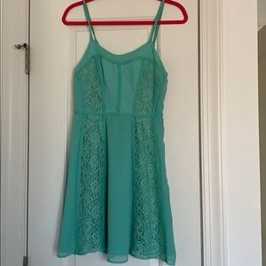LC teal dress